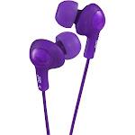 JVC Gumy Plus HA-FX5 Earbuds - Violet
