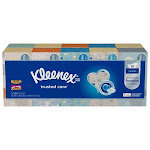 Kleenex Facial Tissue Family Size 10 Pack, 230 Count
