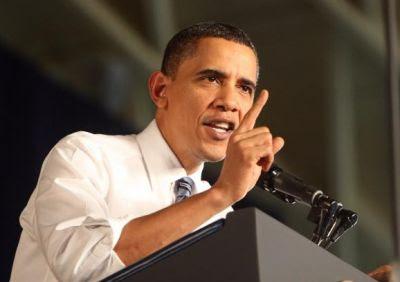 لماذا يستخدم أوباما أصبع الاشارة كثيراً ؟ شاهد الصور