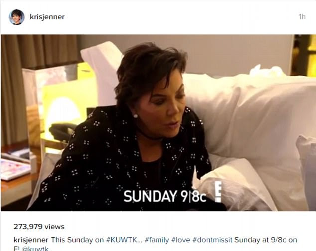 New: Kris Jenner warns Kim Kardashian about an operation on a teaser for Sunday's Keeping Up With The Kardashians