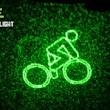 BLAZE, A Bike Light That Projects a Warning Symbol Ahead of Bicyclist