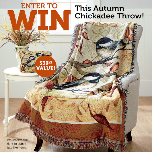 Autumn Throw Giveaway!