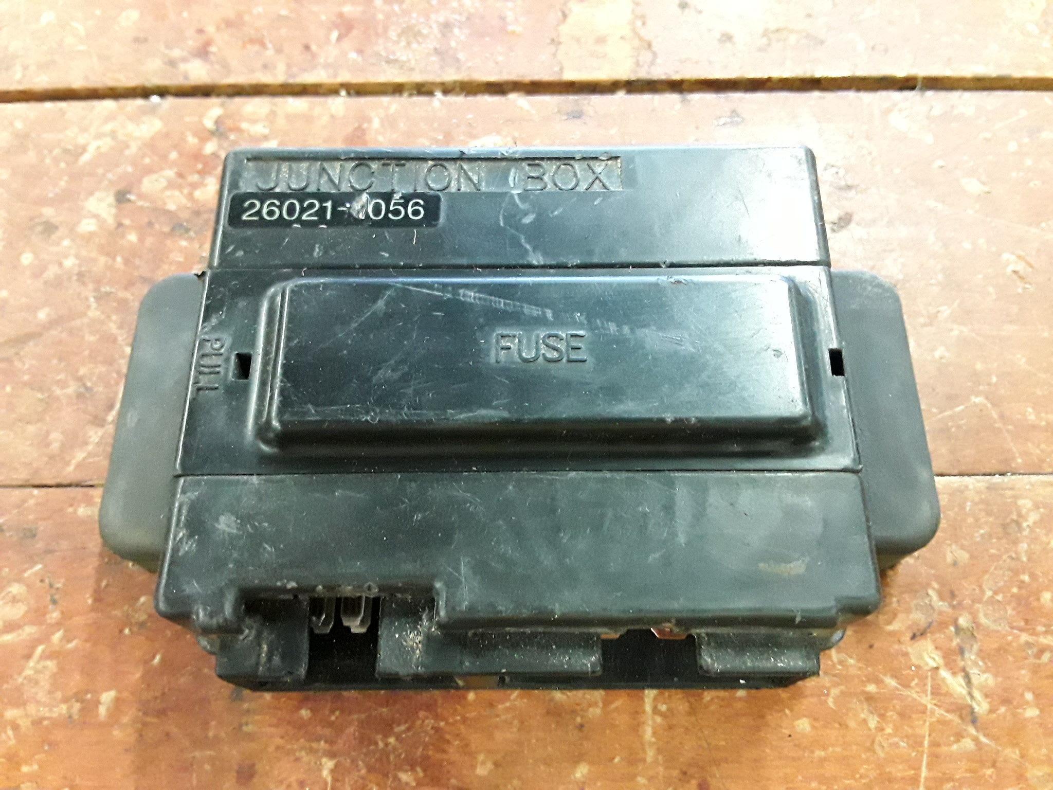 Kawasaki Fuse Box