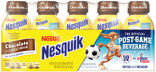 Nesquik® Is the Official Post-Game Beverage of American Youth Soccer Organization - 24/7 Modern Mom™