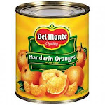 Del Monte Mandarin Oranges in Light Syrup (29 Ounce, 12 Per Case)
