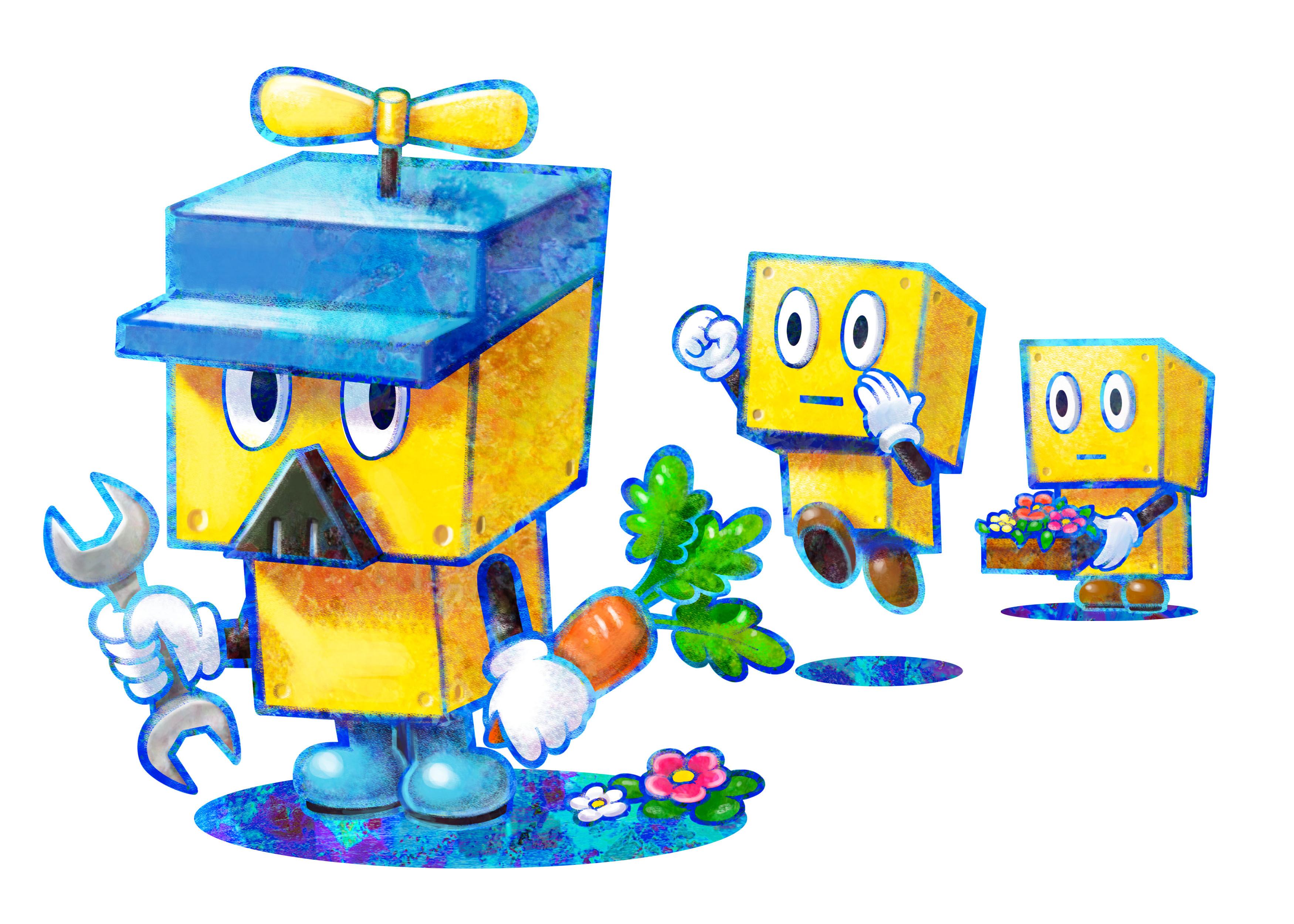 Massive Set Of Mario Luigi Dream Team Official Art Mario