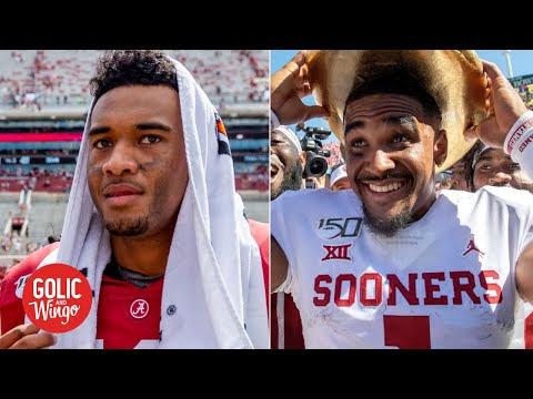 Nick Saban on Tua's injury And Jalen Hurts' Success at Oklahoma
