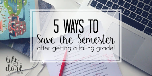 5 Ways to Improve Grades After Getting a Failing Mark