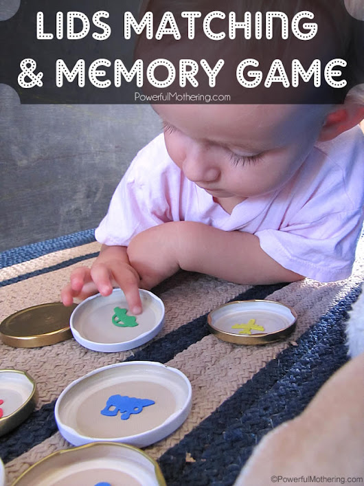 Lids Matching and Memory Game