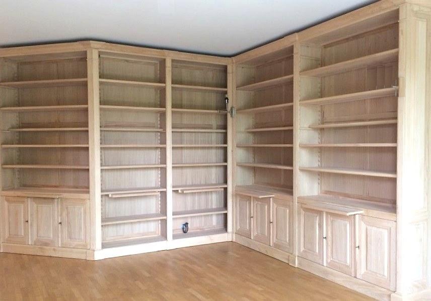 Falegnameria su misura: Librerie in legno- Falegnameria costruisce