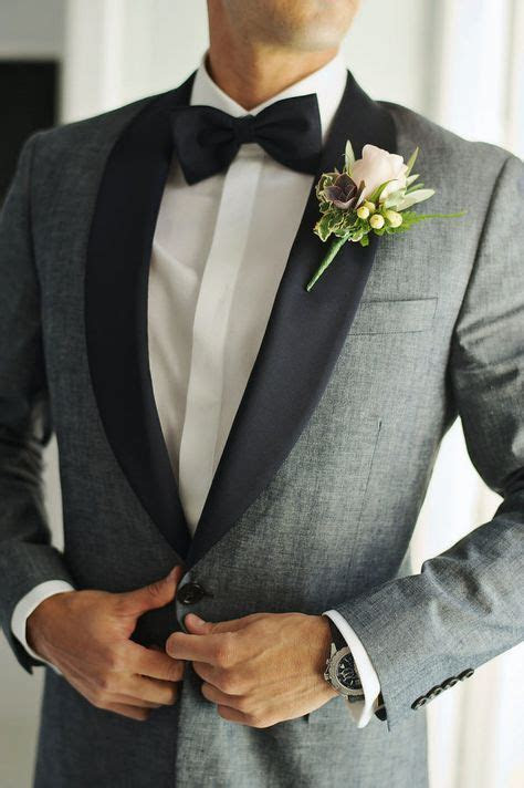 grey tuxedo ideas  pinterest gray tux