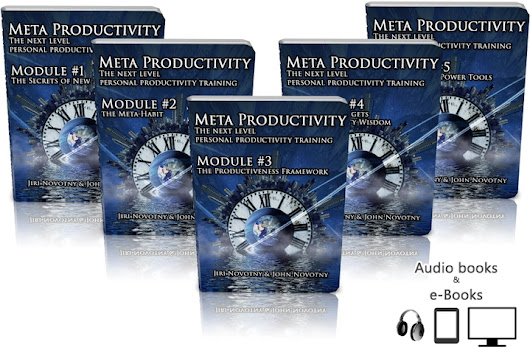Meta Productivity: The next level personal productivity training
