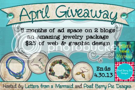 Bloglovin' April Giveaway