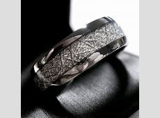 Meteorite Ring Meteorite Wedding Band Meteorite Engagement Ring Meteorite Jewelry Mens Meteorite
