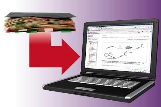 Electronic Lab Notebooks now available