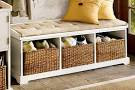 Gorgeous Entryway Bench with Storage: Entryway Storage Bench with ...