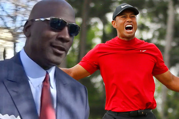 fd65b3d4 Michael Jordan Says Tiger Woods' Masters Win Is Greatest Comeback Ever!