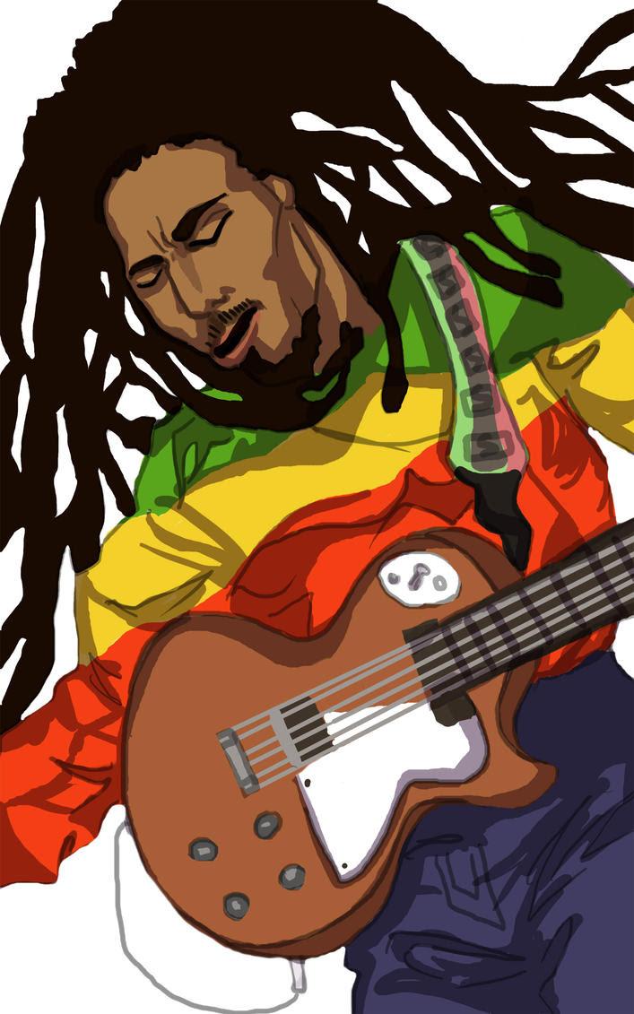 Bob Marley Cartoon Images
