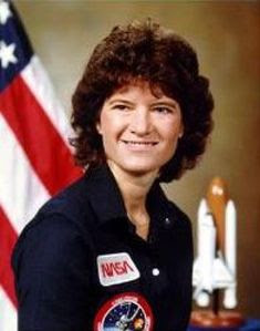 Sally Ride United States  First American woman in space. Missions: STS-7 (Jun. 18, 1983) and STS-41-G (Oct. 5, 1984)