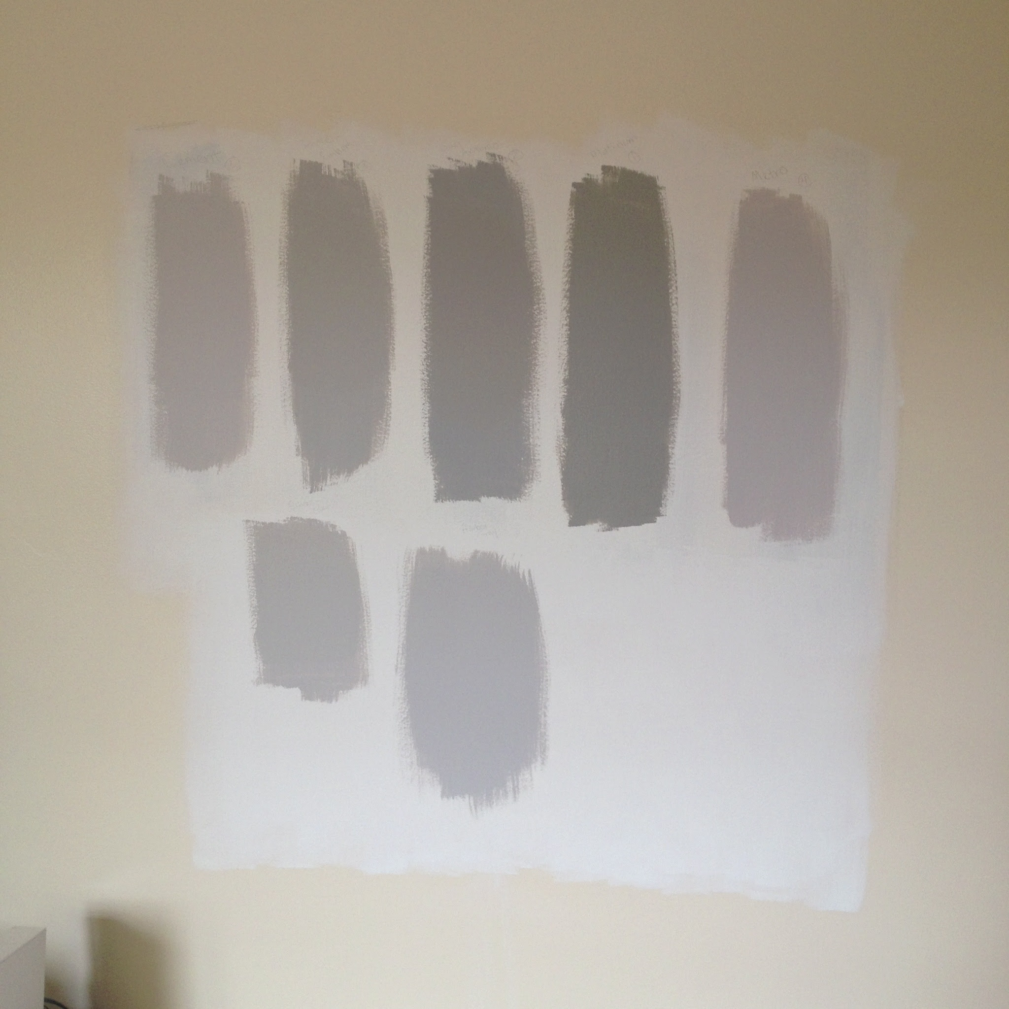 I ve Got the Blues Over the Benjamin Moore Grays