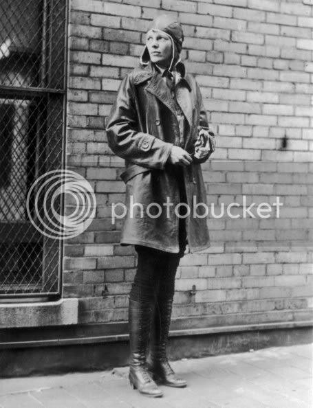 amelia earhart vintage fashion