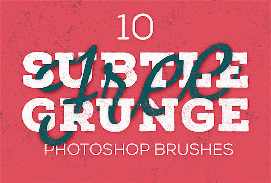 30 High-Resolution Grungy Photoshop Brush Packs - Tech Buzz Online