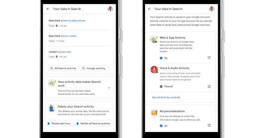 Google Makes it Easier for Users to Delete Search History - Search Engine Journal