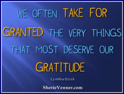 Image result for what does it means to be taken for granted