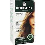 Herbatint Haircolor Gel, Permanent, Dark Golden Blonde 6D - 135 ml
