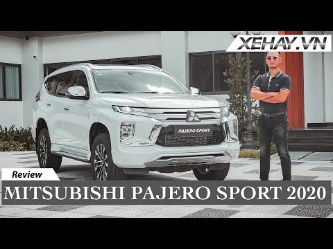 Mitsubishi Pajero Sport New 2020 Bản Nâng Cấp Facelift Đầy Ấn Tượng Hoàn Toàn Mới