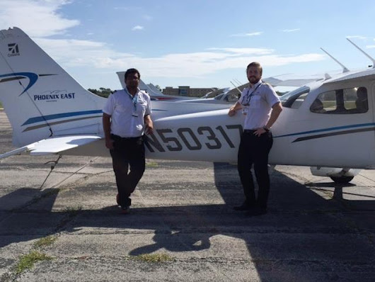 What Happens on a Student's First Solo Flight? | Phoenix East Aviation