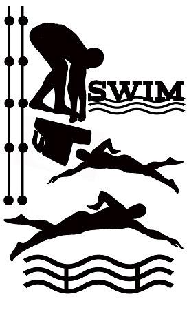 Swim, 110 x 180,