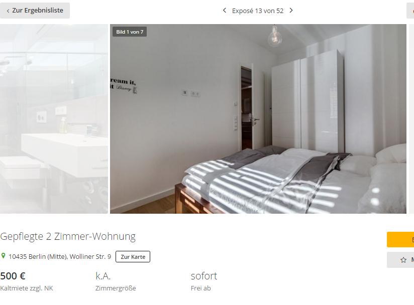 Danielafrank364 gepflegte 2 zimmer wohnung 10435 berlin - 6 zimmer wohnung berlin ...