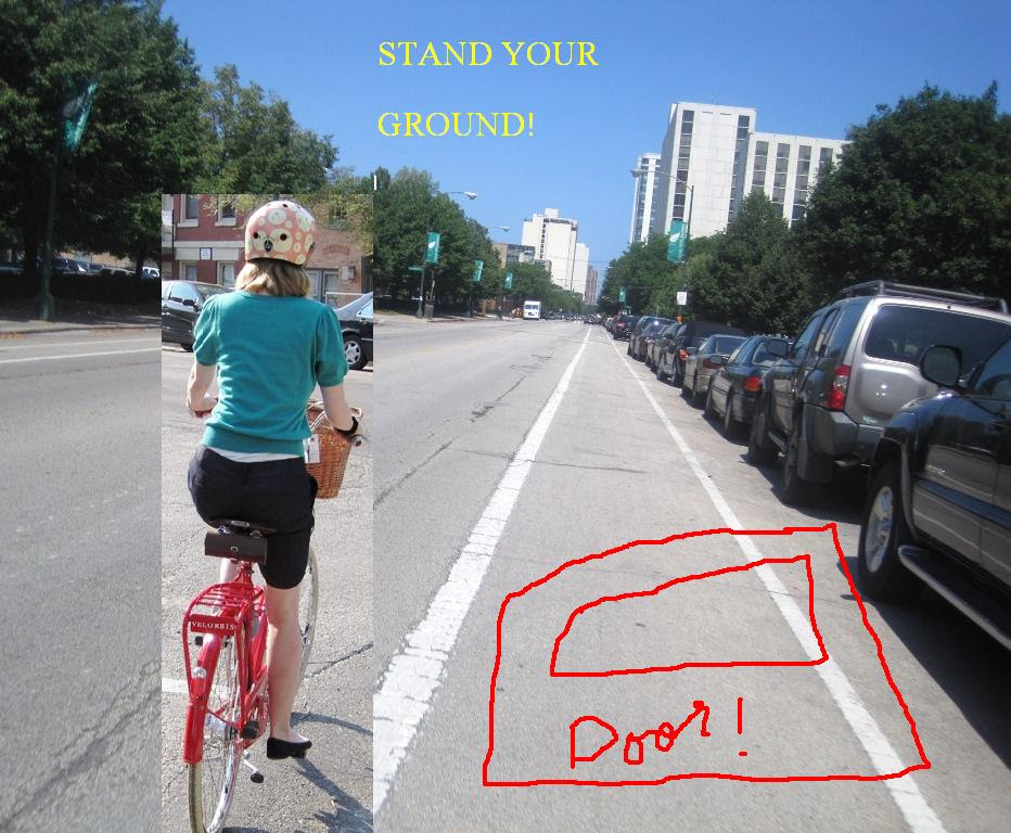 Actually one of the widest bike lanes in Chicago