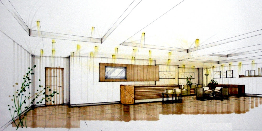 Exam for Level B Technician for Interior Design of Building in