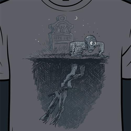 Pants vs zombie by Ape Lad