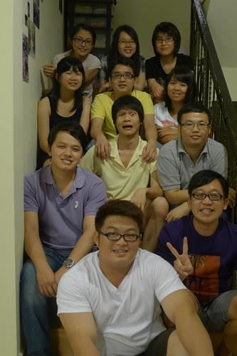 12 Gathering with hostelmates