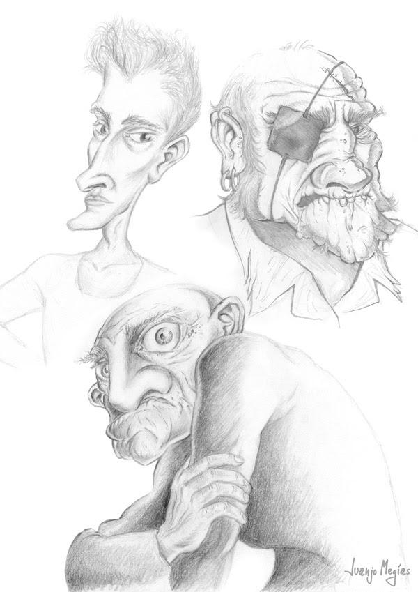 Dibujos Animados A Lapiz