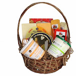 10pc Wisconsin Cheese Party Gift Pack with Basket by Christmas Central