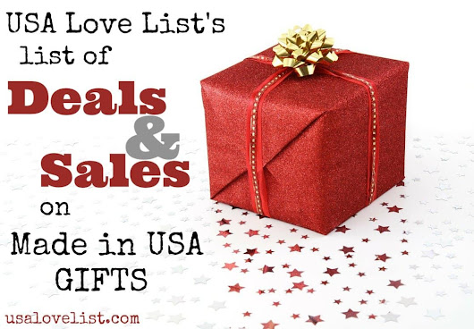 Cyber Monday Deals on American Made Gifts - Start Shopping Here! - USA Love List