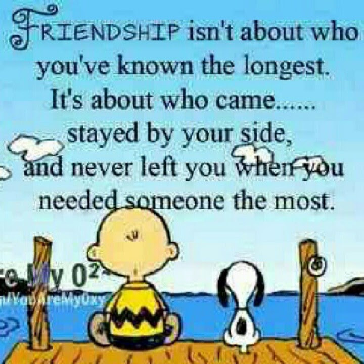 Friendship Isnt About Who Youve Known The Longest Its About Who