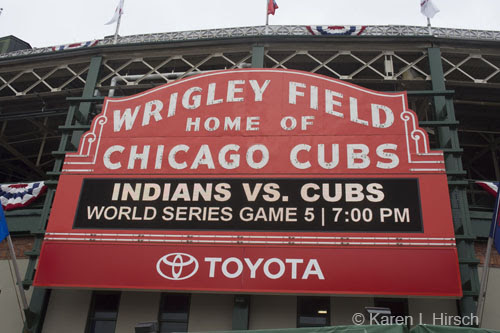 World Series in Chicago - Cubs vs. Cleveland Indians