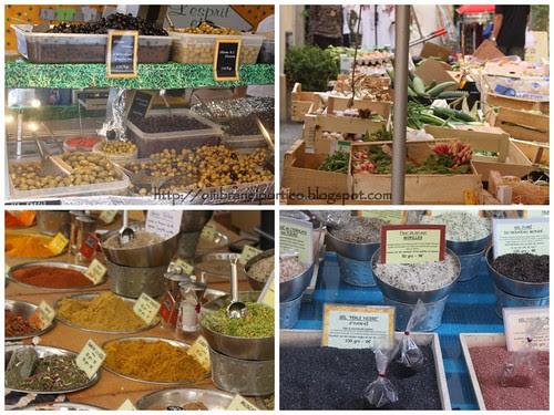 Valbonne:mercato