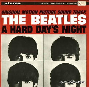 BEATLES, THE hard day's night, a