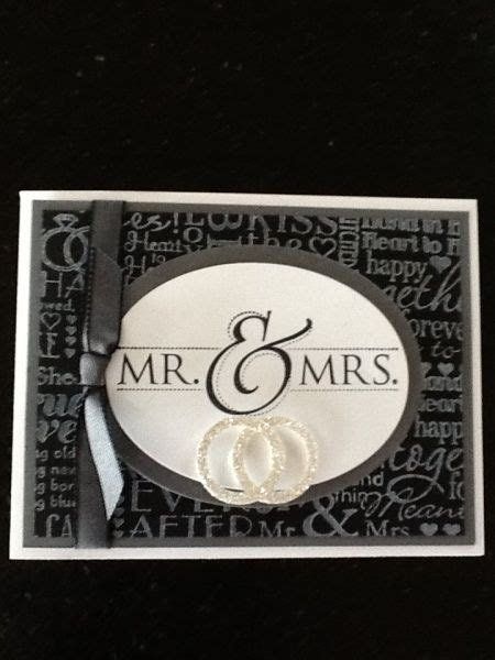 247 best images about ~SU Wedding Cards~ on Pinterest