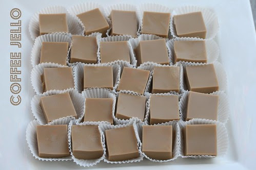 Coffee Jello - The Food Librarian