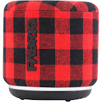 Fabriq Riff Voice Activated Tap and Ask Alexa Enabled Wireless Smart Speaker, Red
