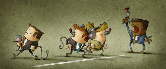 Getting out of the startup rat race