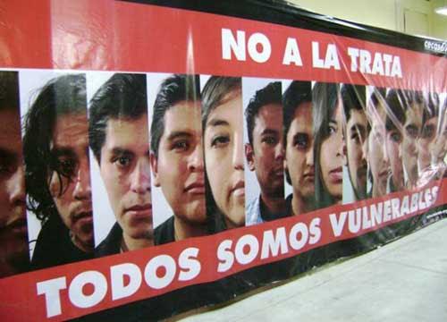 Socialización de trata y tráfico en Villazón