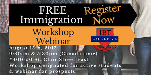 Free Immigration and PGWP Workshop/Webinar